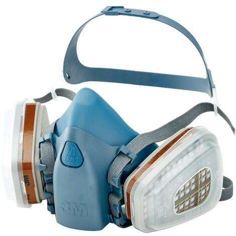 3M Masken-Set 7523M mit Maske 7502 und Filter A2P3R