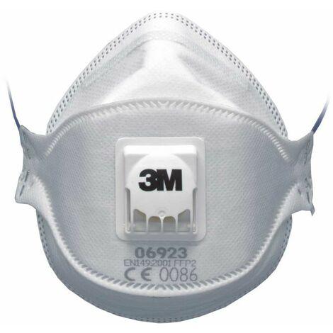 3M Masque de protection FFP2 Prévention Bactérie EN 149 Anti-pollution EN 149 - Blanc