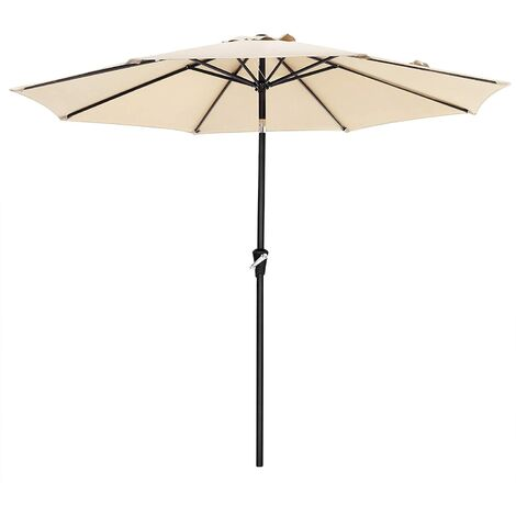 aeb17ce36d 3m Parasol Umbrella, Sun Shade, Octagonal Polyester Canopy, with ...