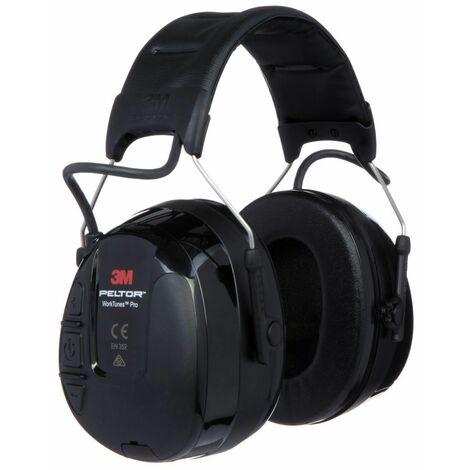 3M Peltor HRXS221A Worktunes Pro - Protector auditivo con función FM / AM