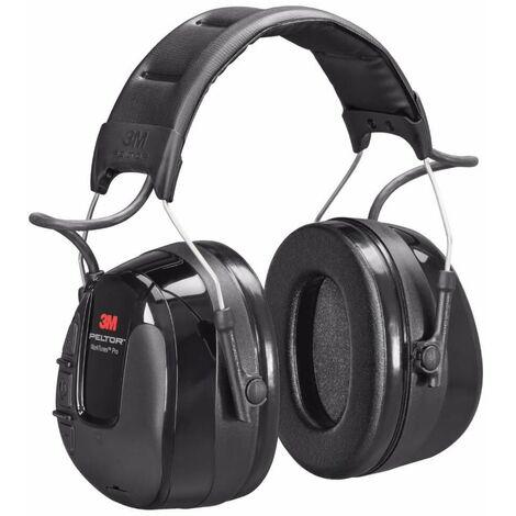 3M PELTOR WorkTunes Pro FM Radio orejera negra, diadema HRXS220A (10 unidades)