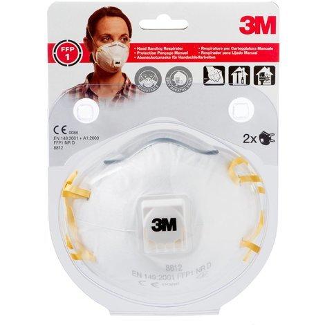 maschera antipolvere 3m 8835 ffp3 con valvola x5