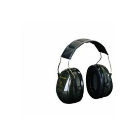 3M ruido casco verde OPTIME 2 PELTOR H520A