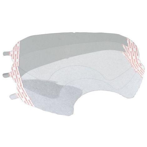 3M - Sachet de 25 Films de protection de visière K6885 - K6885
