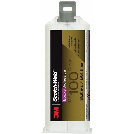 3M™ Scotch-Weld™ Epoxy Structural Plastic Adhesive DP100 Clear 48.5 ml