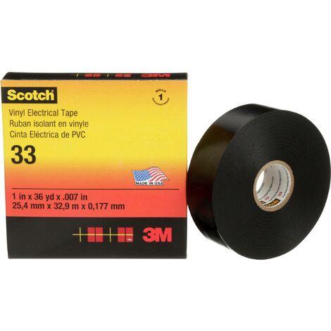 3M SCOTCH33-38X33 Ruban isolant Scotch® noir (L x l) 33 m x 38 mm C051431
