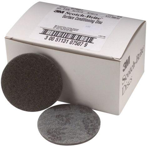 3M Scotchbrite Disque en fibre 178X22MM ACRS (Emballé par 10)