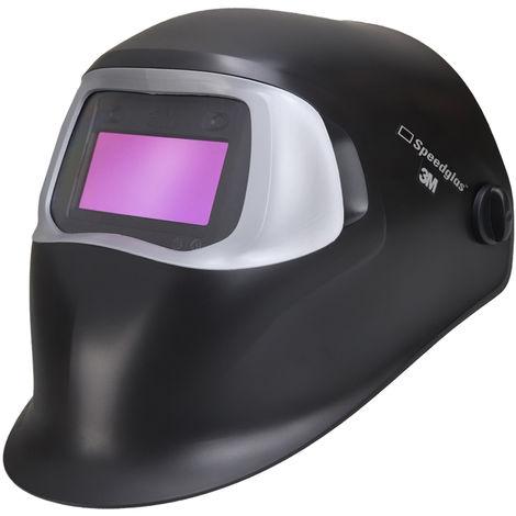 3M Speedglas 100V Casco de soldadura totalmente automático, Categoría óptica: 1/2/2/3 oscurecimiento totalmente automático