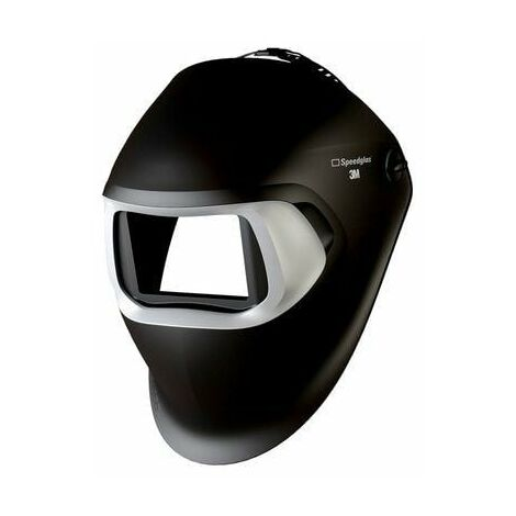 3M Speedglas Pantalla de soldadura 100 negra, sin filtro 751100