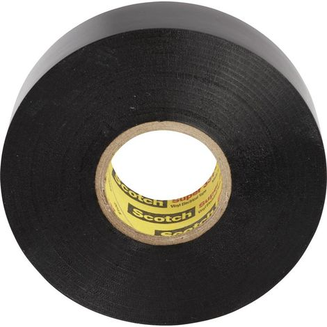 3M SUPER33+-50X33 Ruban isolant Scotch® noir (L x l) 33 m x 50 mm