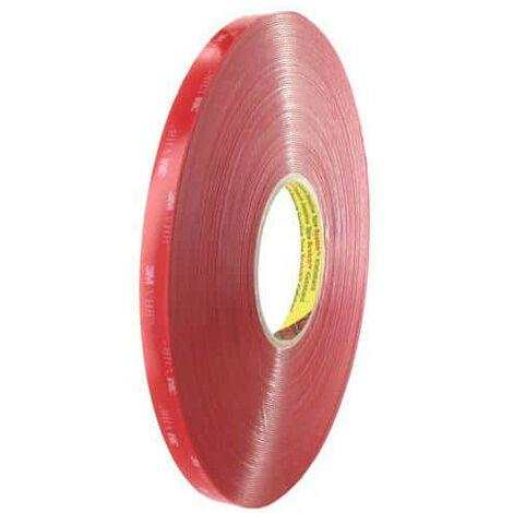 3M tape 4910 VHB double-transparent acrylic front 12mm x 33m x 5