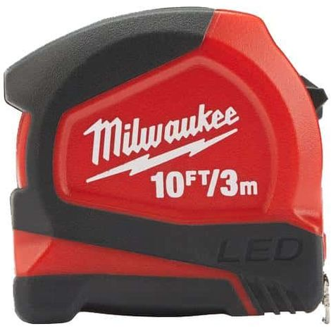 3m tape measure MILWAUKEE - compact 12mm 48226602