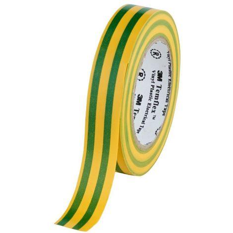 3M™ TEMFLEX™ 1300 CINTA PVC - AMARILLO/VER 3M 1300AV20