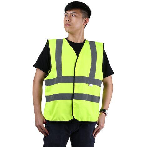 3M V10M0 alta visibilidad chaleco reflectante de seguridad ropa de trabajo de seguridad Chaleco, L