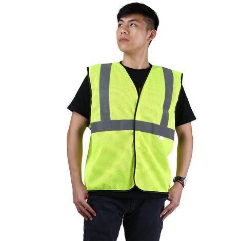 3M V10M0 alta visibilidad chaleco reflectante de seguridad ropa de trabajo de seguridad Chaleco, XXL