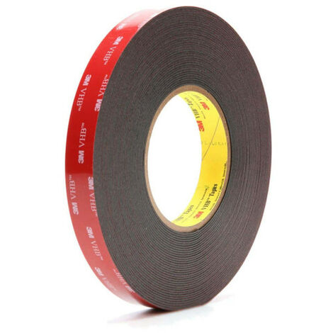 3M VHB 595F Double-Sided Adhesive - 19mm x 11m - Black