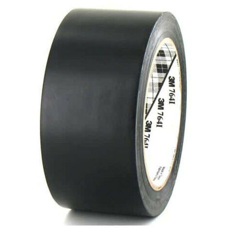 3M Vinyl Tape 764 50mm black