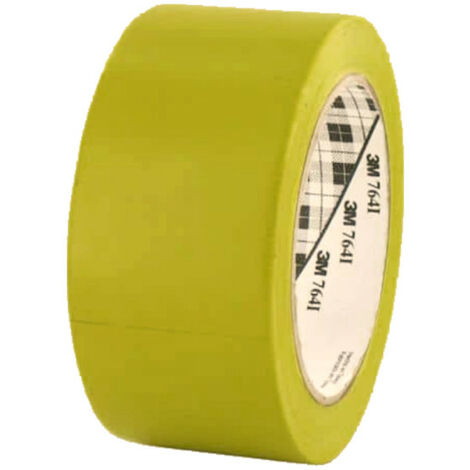 3M Vinyl Tape 764 50mm yellow