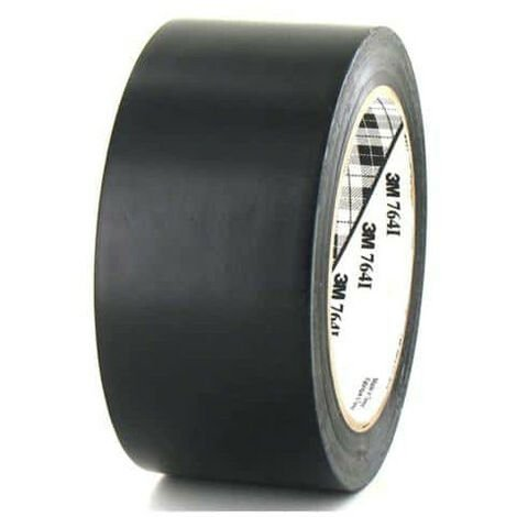 3M Vinyl Tape 764 black 50mm x 5
