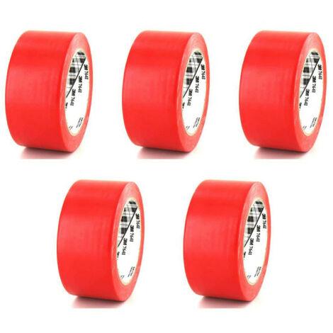 3M Vinyl Tape 764 Red 50mm x 5