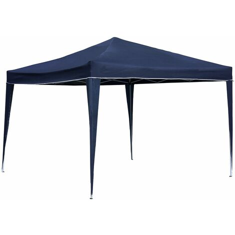 3M X 3M Foldable Pop Up Gazebo Marquee Tent For Camping / Bbq - Garden Outdoors