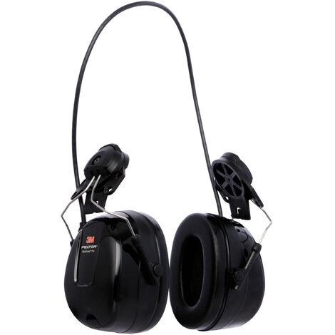 """3M™ Peltor™ Ecouteurs audio avec protection auditive avec radio FM """"Work Tunes Pro"""", à fixer sur le casque"""