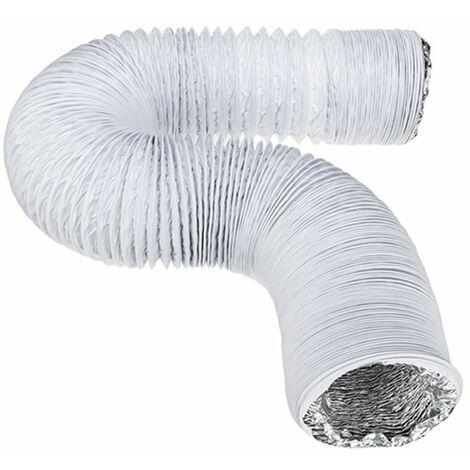 3Mx12.5cm Flexible Echappement Vent Tuyau Tube Pour Climatiseur Climatisation LAVENTE