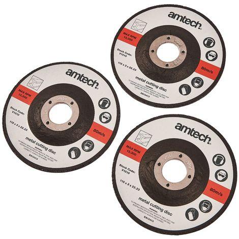 3pc 115mm Metal Cutting Disc