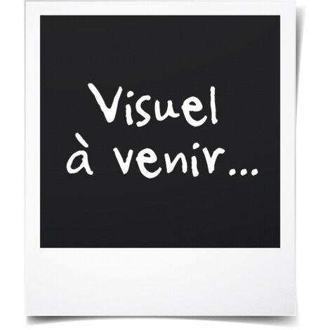 3pcs Groupe table meubles métal pliable jardin élargi groupe de ...