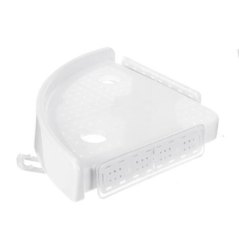 3pcs Suction Cup Bathroom Shower Corner Storage Rack Triangular Shower Shampoo Soap Shelves Wall Mounted Tripod Holder Organizer
