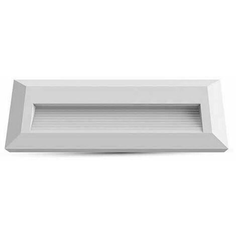 3W Applique murale LED pour escaliers 110LM 55° IP65- Corps Blanc Rectangle VT-1162 W – SKU 1326 Blanc neutre 4000K