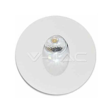 3W Spot LED Encastrable pour escaliers Rond Mod. VT-1109 SKU 1207 3000k
