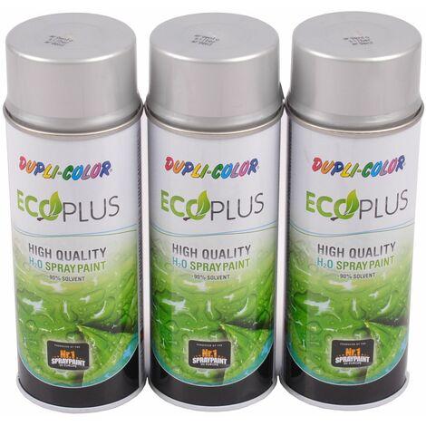 3x 400ml Dupli Color ECOPLUS Lackspray silber Farbspray Sprühlack Sprühdose