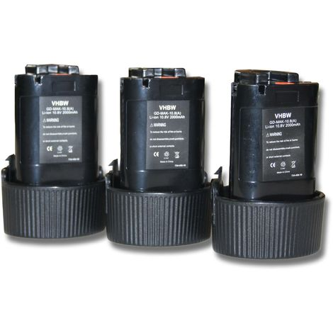 194550-6 194551-4 Outil Batterie pile accu 10.8v 2000mah pour Makita bl1013