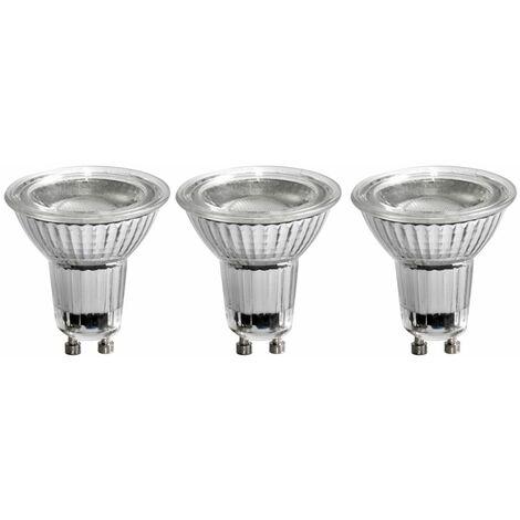 3x LED 5 W GU10 Reflector de bombilla de bajo consumo Reflector 345 lm Lámpara EEK A +