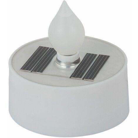 3x LED Solar Tealights Velas Efecto de Fuego Decoración al aire libre Patio Jardín Lámparas Globo 33048-3