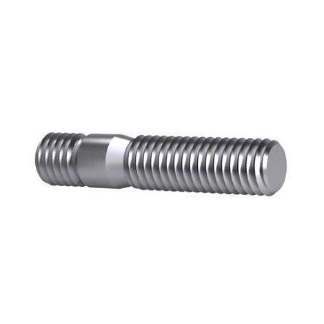 3x Stud for T-slot nuts DIN 6379 Steel Plain 8.8 M24X400 (250)