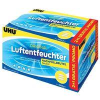 3x UHU 47085 Luftentfeuchter Nachfüllbeutel 1000g Promopack 2+1
