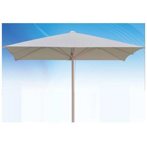 3x2 m CONTRACT Parasol rectangular de aluminio de hostelería