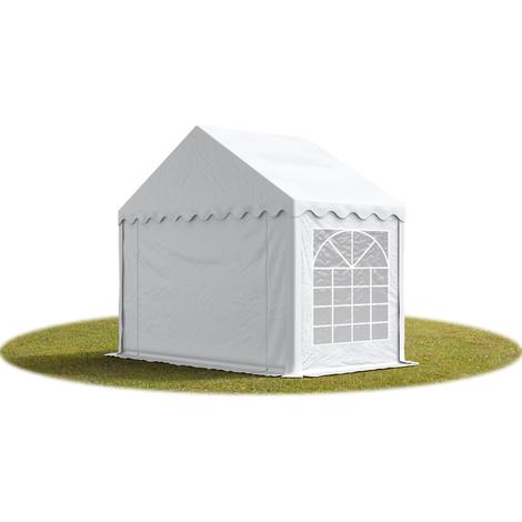 """main image of """"3x2 m Tente de réception/Barnum blanc toile de haute qualité env. 500g/m² PVC ECONOMY"""""""
