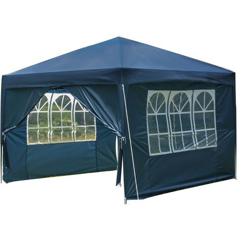 3x3M Outdoor Gazebo Marquee Tent Blue
