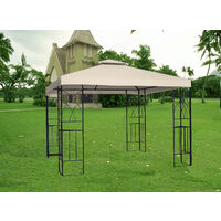 6//8m Sun Shade Side Walls Screen Panel Gazebo Canopy Shelters For 2x2x2m