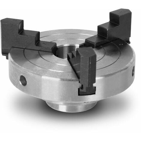 """4"""" / 100 mm mandrin de tour à bois à trois mors à centrage automatique"""