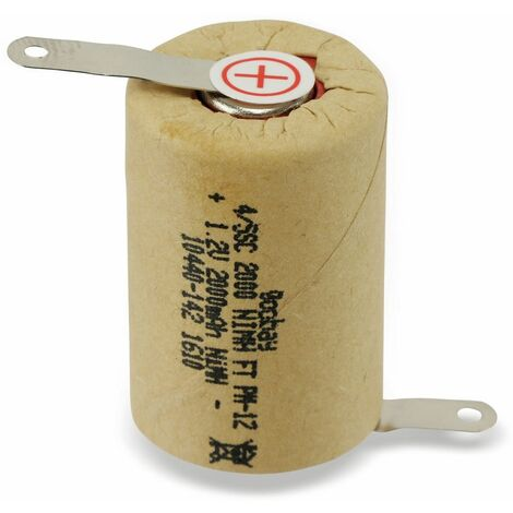 4/5-Sub-C-Zelle NiMH, 2000 mAh, 1,2 V