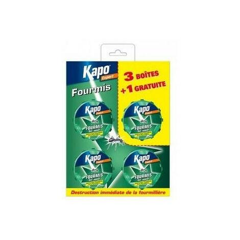 4 Boîtes appâts anti-fourmis