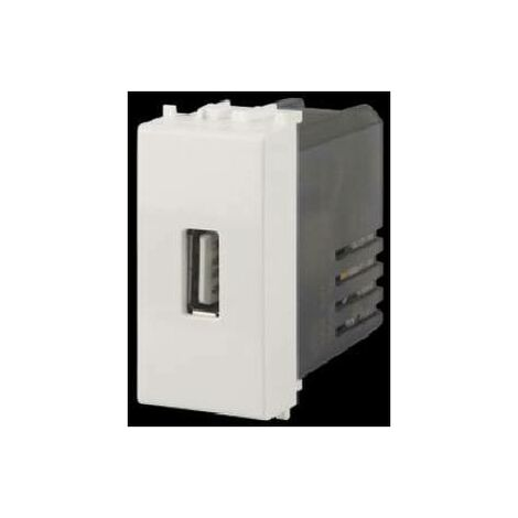 4 BOX PRESA USB 2.1A PER VIMAR PLANA 4B.V14.USB