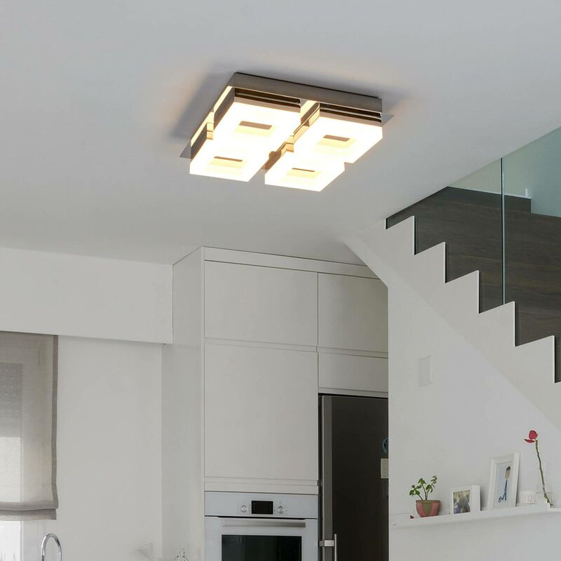 4 Bulb Led Bathroom Ceiling Light Marija