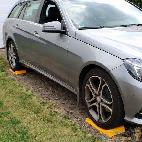 4 Cales Roue De Voiture Pour Garage, Hiver Ou Parking