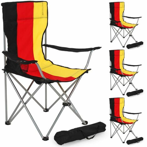 4 Camping chairs - folding chair, fold up chair, folding camping chair