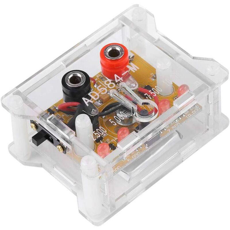 4 Channel 2.5V / 7.5V / 5V / 10V 4 Channel High Precision Voltage Reference Module with AD584KH Box